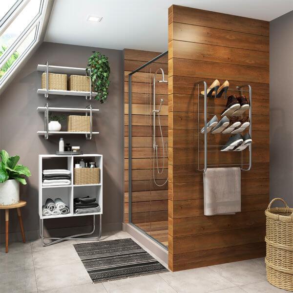 Mueble Multiusos - Cromado Ebani Colombia tienda online de decoración y mobiliario Bertolini