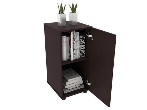 Mueble auxiliar con puerta Ebani Colombia tienda online de decoración y mobiliario maderkit