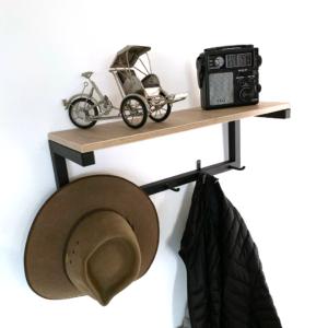 Perchero repisa kaan Ebani Colombia tienda online de decoración y mobiliario Ferrum
