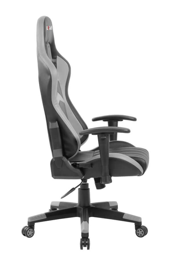 Silla Race Gamer Premium Negro-Gris Ebani Colombia tienda online de decoración y mobiliario Reflekta
