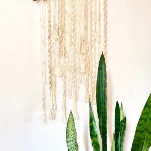 Soporte para plantas en macramé Ebani Colombia tienda online de decoración y mobiliario Cozzy