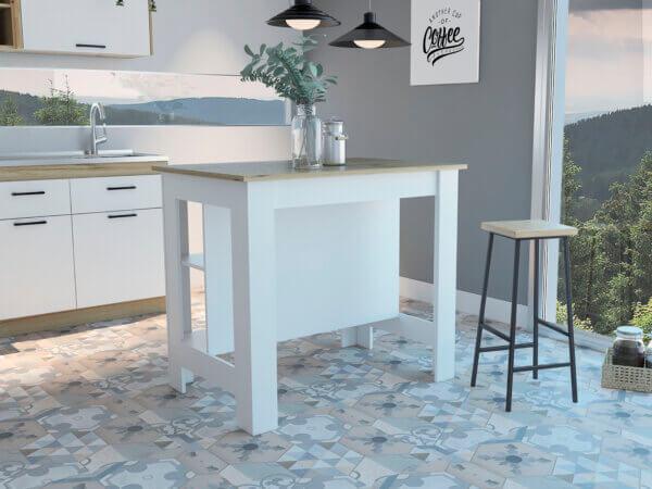 Auxiliar de cocina Salgar duna-blanco Ebani Colombia tienda online de decoración y mobiliario RTA