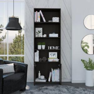 Biblioteca lisa Easy wengue Ebani Colombia tienda online de decoración y mobiliario RTA