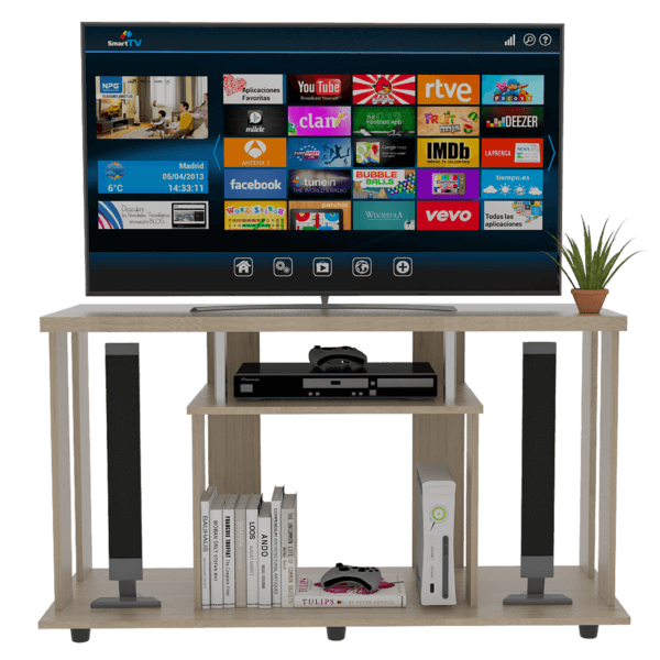 Centro de entretenimiento o mesa para TV Lannes rovere Ebani Colombia tienda online de decoración y mobiliario RTA