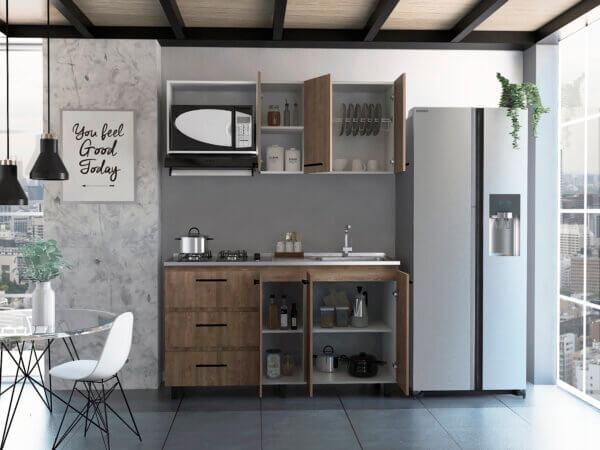 Cocina 1.50 Calathea miel-blanco Ebani Colombia tienda online de decoración y mobiliario RTA