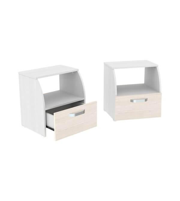 Combo de mesas de noche Ebani Colombia tienda online de decoración y mobiliario Maderkit
