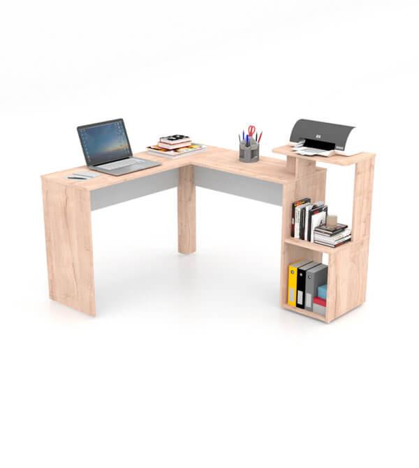 Escritorio moderno para pc o estudio Mikasa L Ebani Colombia tienda online de decoración y mobiliario Maderkit