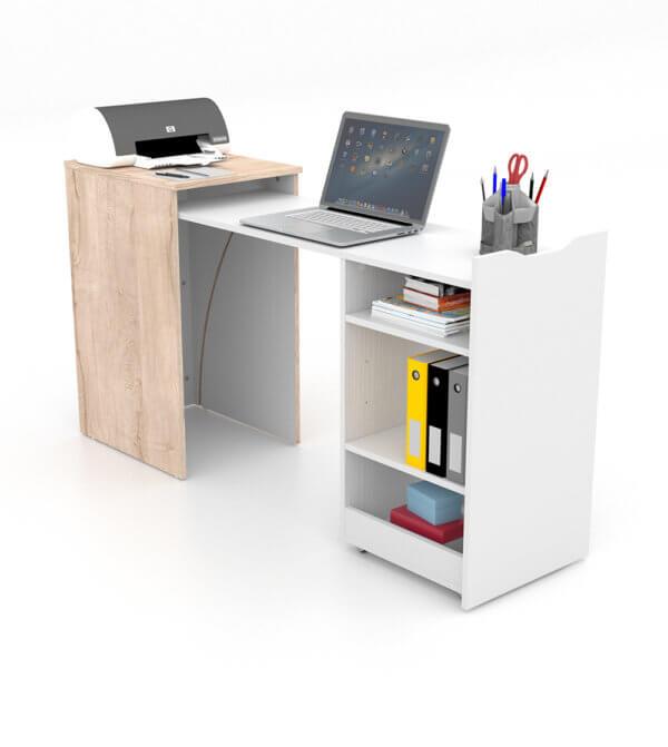 Escritorio moderno para pc o estudio cubo space Ebani Colombia tienda online de decoración y mobiliario Maderkit