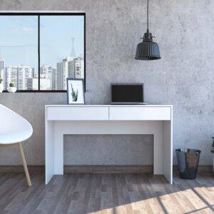 Escritorio para PC o estudio Acre blanco Ebani Colombia tienda online de decoración y mobiliario RTA