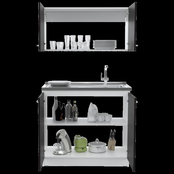 Kit lavaplatos Nápoles blanco-roble ahumado Ebani Colombia tienda online de decoración y mobiliario RTA