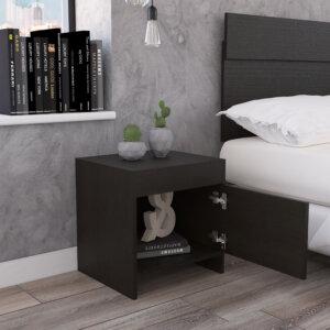 Mesa de noche o Nochero Colore wengue Ebani Colombia tienda online de decoración y mobiliario RTA