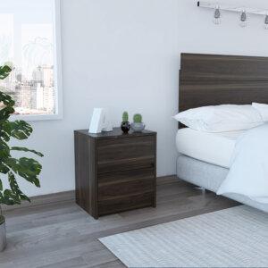 Mesa de noche o Nochero Trivor habano Ebani Colombia tienda online de decoración y mobiliario RTA