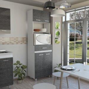 Módulo microondas Sicilia blanco-roble gris Ebani Colombia tienda online de decoración y mobiliario RTA