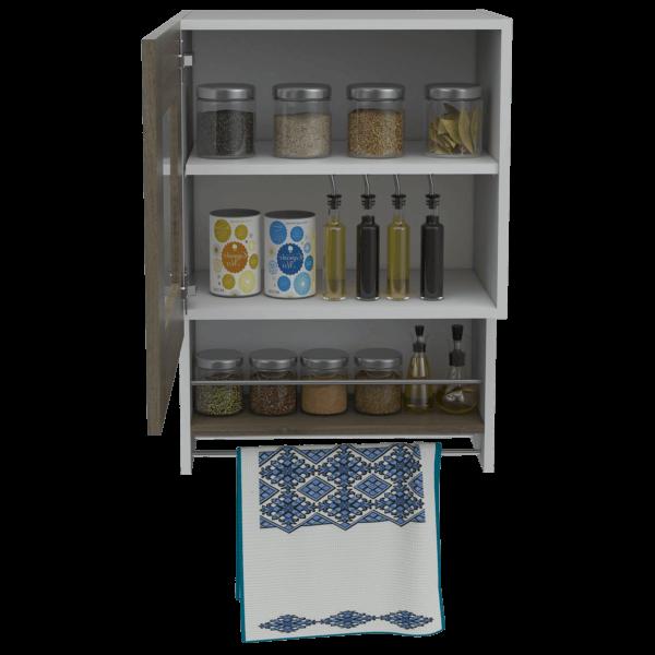 Mueble aux. superior Balboa blanco-café expreso Ebani Colombia tienda online de decoración y mobiliario RTA