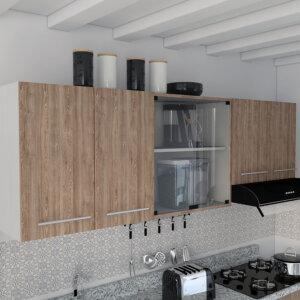 Mueble superior Cocina 1.80 Barita blanco-miel Ebani Colombia tienda online de decoración y mobiliario RTA