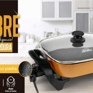 Sartén eléctrico home elements Ebani Colombia tienda online de decoración y mobiliario Merpes