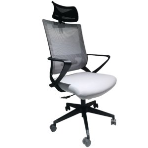 Silla de oficina Alice negro + gris Ebani Colombia tienda online de decoración y mobiliario RTA