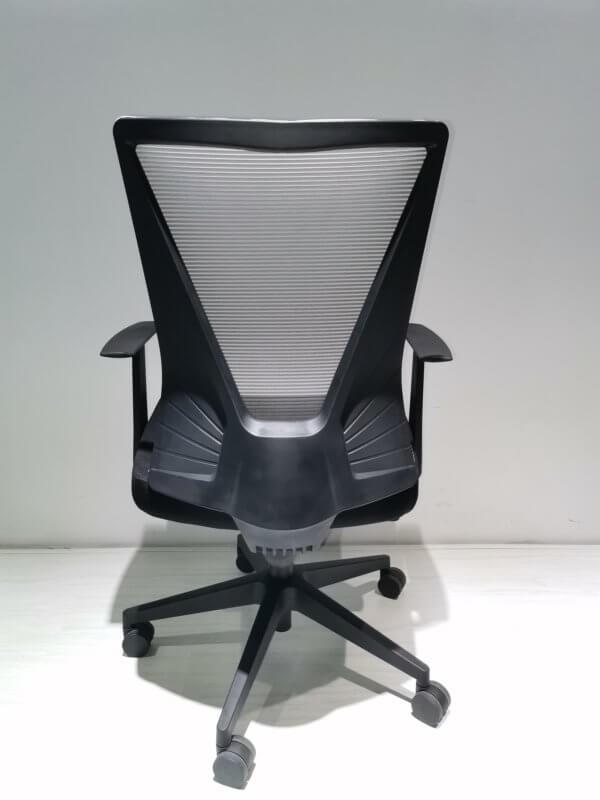 Silla de oficina Cox negro + gris Ebani Colombia tienda online de decoración y mobiliario RTA