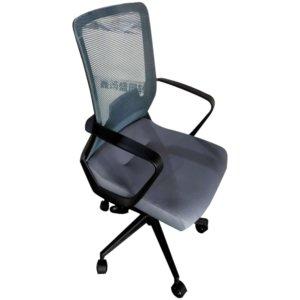 Silla de oficina Morrison negro + gris Ebani Colombia tienda online de decoración y mobiliario RTA