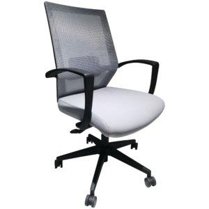 Silla de oficina Terry negro + gris Ebani Colombia tienda online de decoración y mobiliario RTA