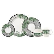 Vajilla tanzania 4 puestos 20 piezas corona Ebani Colombia tienda online de decoración y mobiliario Merpes