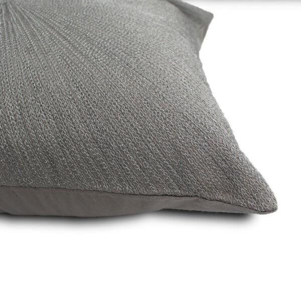 Cojín Rays Plata 45cm x 45cm
