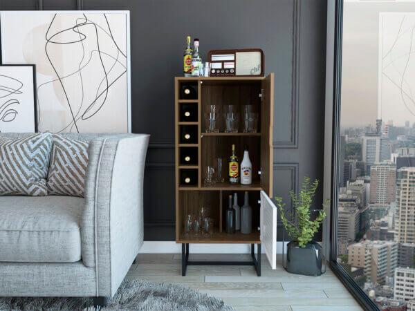 Mueble Bar Plus Gales + Blanco