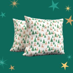 Cojín decorativo árbol de navidad Ebani Colombia tienda online de decoración y mobiliario Anuk