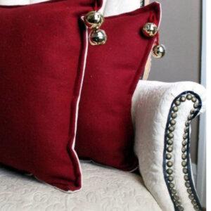 Cojín decorativo cascabeles Ebani Colombia tienda online de decoración y mobiliario Anuk