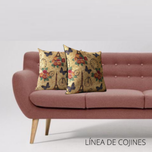 Cojín decorativo charles de gaulle Ebani Colombia tienda online de decoración y mobiliario Anuk