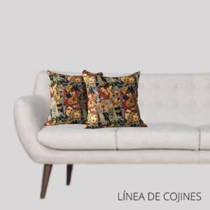 Cojín decorativo comics Ebani Colombia tienda online de decoración y mobiliario Anuk