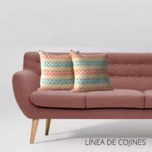 Cojín decorativo conexión coral Ebani Colombia tienda online de decoración y mobiliario Anuk