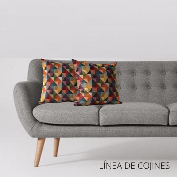 Cojín decorativo geometrico Ebani Colombia tienda online de decoración y mobiliario Anuk