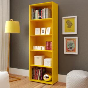 Biblioteca Multy Amarillo Ebani Colombia tienda online de decoración y mobiliario Bertolini