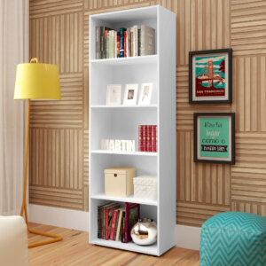 Biblioteca Multy Blanco Ebani Colombia tienda online de decoración y mobiliario Bertolini