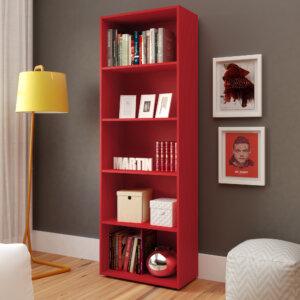 Biblioteca Multy Rojo Ebani Colombia tienda online de decoración y mobiliario Bertolini