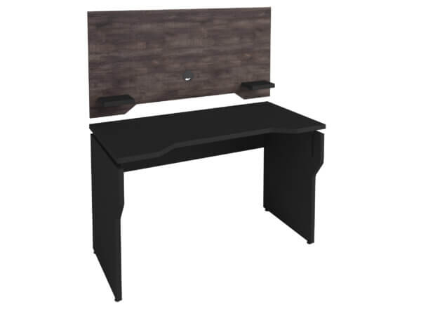 Escritorio para pc o Estudio Gamer - Negro-Terrano Ebani Colombia tienda online de decoración y mobiliario Bertolini