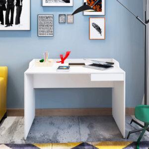 Escritorio para pc o Estudio Slim - Blanco Ebani Colombia tienda online de decoración y mobiliario Bertolini