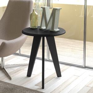 Mesa Auxiliar Lateral Ellis Negro Ebani Colombia tienda online de decoración y mobiliario Bertolini