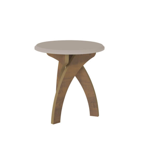 Mesa Auxiliar Lateral Jade Blanco con Pino Ebani Colombia tienda online de decoración y mobiliario Bertolini