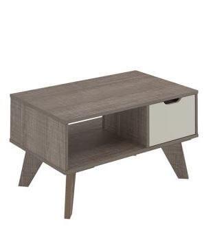 Mesa de Centro Vip Canela con Blanco Ebani Colombia tienda online de decoración y mobiliario Bertolini