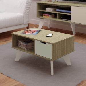 Mesa de Centro Vip Mezcla con Blanco Ebani Colombia tienda online de decoración y mobiliario Bertolini