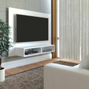 Panel o Mueble para Tv Flash Pantalla Hasta 42 Blanco