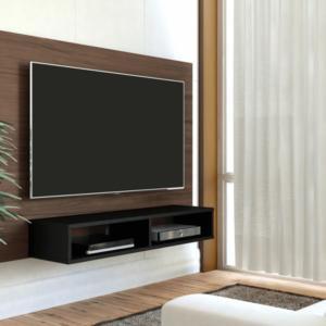 Panel o Mueble para Tv Flash Pantalla Hasta 42 Imbuia con Negro Ebani Colombia tienda online de decoración y mobiliario Bertolini