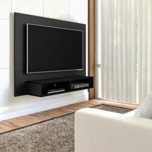 Panel o Mueble para Tv Flash Pantalla Hasta 42 Negro Ebani Colombia tienda online de decoración y mobiliario Bertolini
