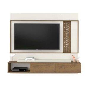 Panel o Mueble para Tv Londres Pantalla Hasta 42 Pino con Blanco Ebani Colombia tienda online de decoración y mobiliario Bertolini