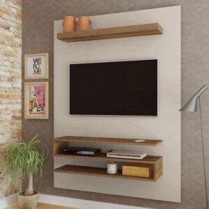 Panel o Mueble para Tv Orion Para Pantalla Hasta 42 - Blanco con Pino Ebani Colombia tienda online de decoración y mobiliario Bertolini