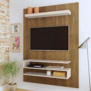 Panel o Mueble para Tv Orion Para Pantalla Hasta 42 - Pino con Blanco Ebani Colombia tienda online de decoración y mobiliario Bertolini