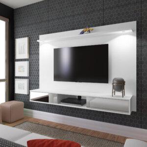 Panel o Mueble para Tv Platinum Para Pantalla Hasta 55 Blanco Ebani Colombia tienda online de decoración y mobiliario Bertolini