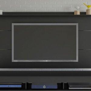Panel o Mueble para Tv Slim Para Pantalla Hasta 55 Negro Ebani Colombia tienda online de decoración y mobiliario Bertolini